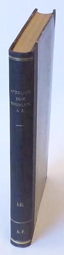 Erik Benzelius d. ä. I-II.: Benzelius] Afzelius, Henrik