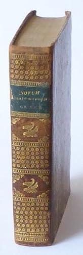Novum Testamentum Graece. Secundum editiones probatissimas expressum. Nova versione latina ...