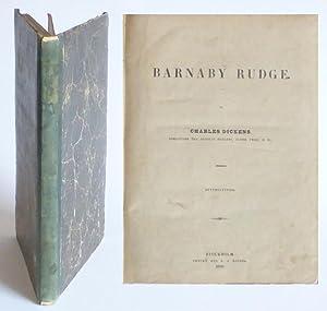 Barnaby Rudge. Öfversättning [av Wendela Hebbe].: Dickens, Charles