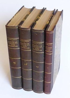 Historisk tidskrift för Skåneland, vol. 1-7.: Weibull, Martin och Lauritz (Red.)
