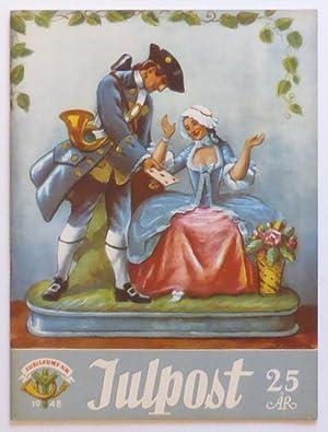 Julpost 1924-1948. Jubileumsnummer. Till förmån för postmännens: Julpost] Strangert, Viktor