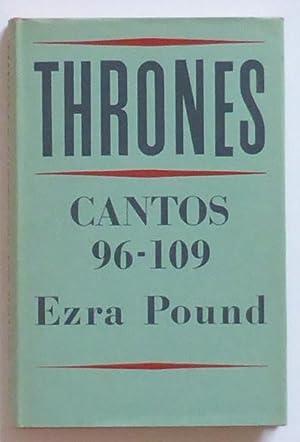Thrones 96-109 de los cantares. [Half title:] Cantos 96-109 of Ezra Pound.: Pound, Ezra