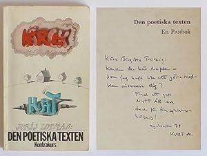 Den poetiska texten. Introduktion av Lars Kleberg.: Lotman, Jurij