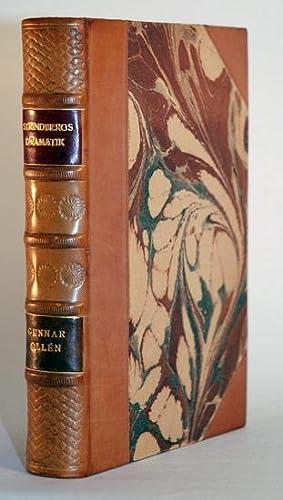 Strindbergs dramatik. En handbok.: Strindberg] Ollén, Gunnar