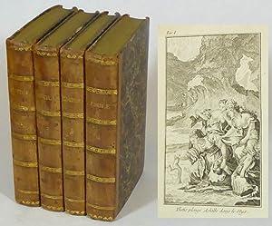 Émile ou de l'éducation. Tome I-IV.: Rousseau, J. J.