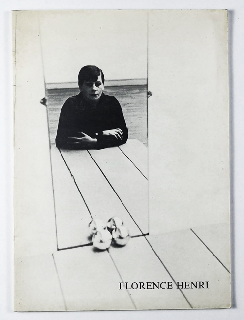 Florence Henri. Photographies 1927-1938. - Henri.-