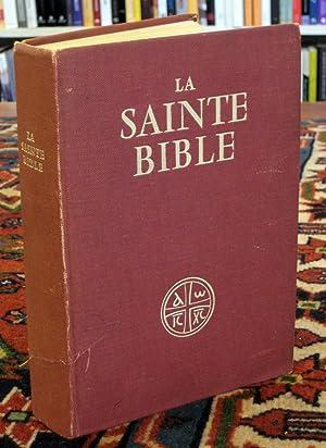 La Sainte bible: traduire en francais sous la direction de 'Ecole Biblique de Jerusalem