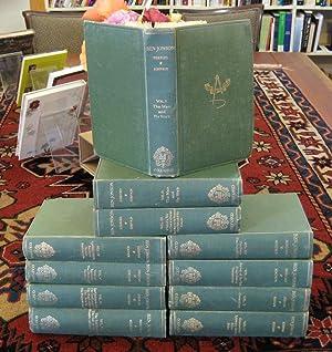 The Works of Ben Jonson (11 volumes): Jonson, Ben