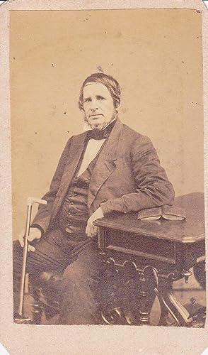 Carte De Visite Photograph Of Benjamin Penhallow Shillaber