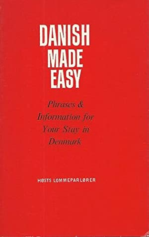 Danish made Easy - phrases and information for your stay in Denmark