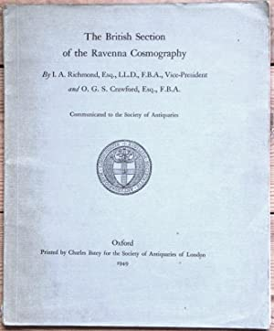 The British Section of the Ravenna Cosmography: Richmond, I. A. & Crawford, O.G.S.
