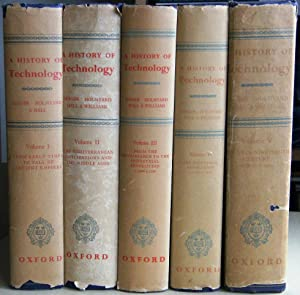 A History of Technology. Volumes 1, 2, 3, 4 & 5