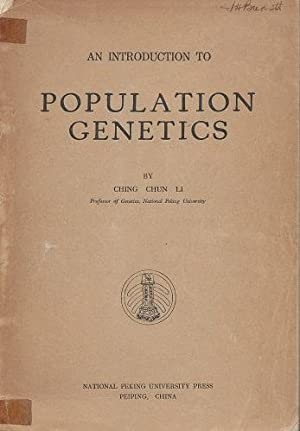 An Introduction to Population Genetics [Sir John Burnett's copy]