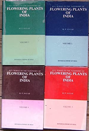 Key Works to the Flowering Plants of India - Volumes 1, 2 4 & 5