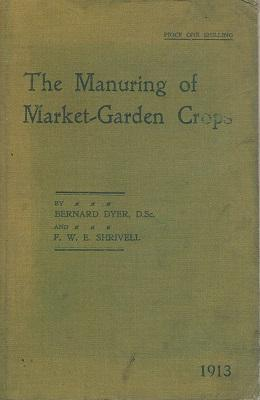 The Manuring of Market-garden crops