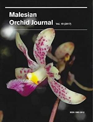 Malesian Orchid Journal Volume 19 - A Taxonomic Revision of Dipodium section Leopardanthus