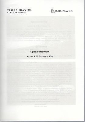 Flora Iranica (Flora des Iranischen Hochlandes und: Rechinger, K.H.