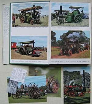 Traction Engines. [A unique copy, extra-illustrated with 41 postcards) { + Old Farm Tractors}
