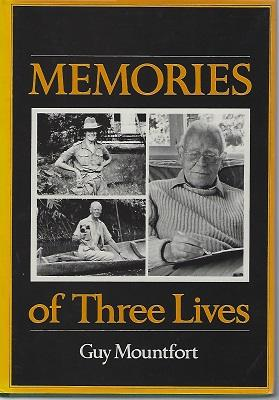 Memories of Three Lives [Richard Fitter's copy]