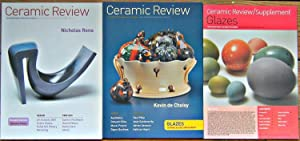 Ceramic Review - The International Magazine of Ceramics - Issues 188 and 192 (together with the s...