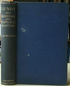 Lundy - Its History and Natural History [Richard Fitter's copy]