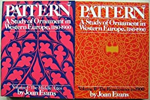 Pattern - A Study of Ornament in Western Europe, 1180-1900 (Two volumes)