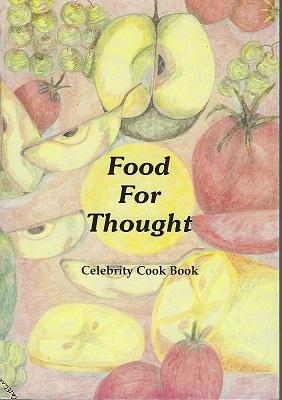 Food for Thought - Celebrity Cook Book [Alan Davidson's copy]