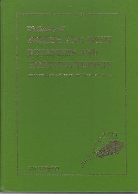 Dictionary of British and Irish Botanists and: Desmond, Ray