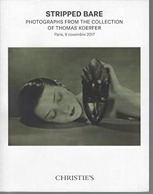Stripped Bare, Photographs from the Collection of Thomas Koerfer. Paris, 9 Novembre 2017