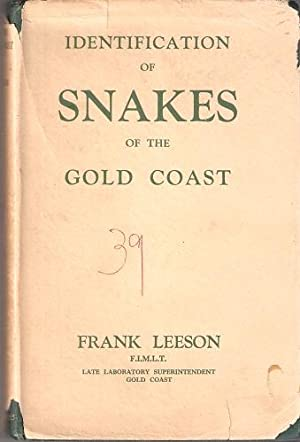 Identification of Snakes of the Gold Coast: LEESON, Frank