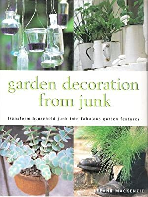 Garden Decoration From Junk