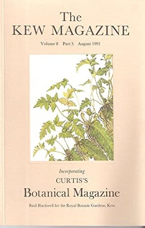 The Kew Magazine ( Curtis's Botanical Magazine) Volume 8 Part 3 - Special Volume devoted to Ferns,
