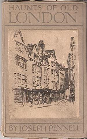 Haunts of Old London - being twenty-five etchings of literary and historical London in photogravure