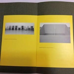 Donald Judd Exhibit Program: Staff, Museum of Modern Art Oxford