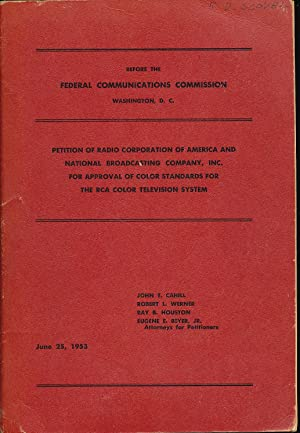 Before the Federal Commission: Petition of Radio: John T. Cahill