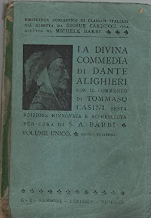la divina commedia completo: dante