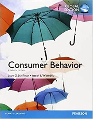 Consumer Behavior (11th Edition) ISBN-13:9780273787136: Leon G. Schiffman;