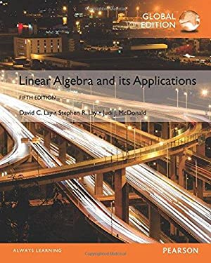 Linear Algebra and its Applications ( 5th: David C. Lay;