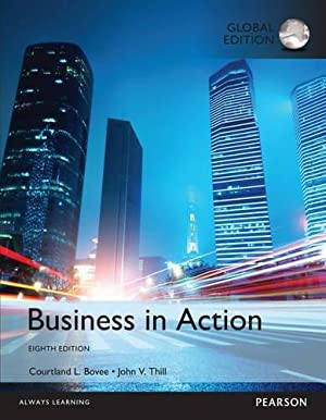 Business in Action (8th International Edition) ISBN:9781292160634: Courtland L. Bovee;