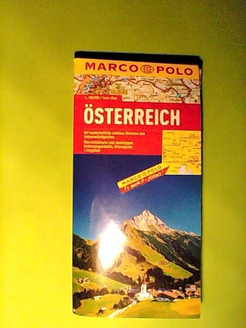 MARCO POLO Länderkarte Österreich 1:300.000 (MARCO POLO Länderkarten) - Marco, Polo