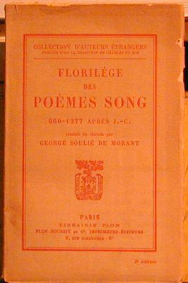 Florilege Des Poems Song: De Morant, George Soulie