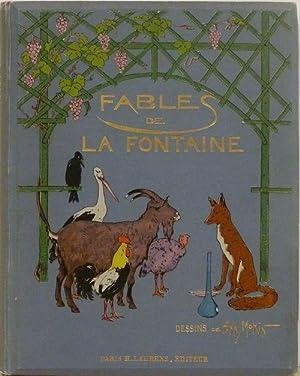 Fables de La Fontaine : Cent Fables choisies: Henry Morin, illustrations