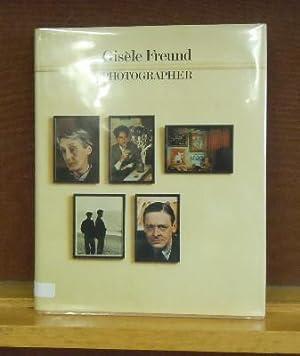 Gisele Freund, Photographer: Gisele Freund