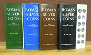 Roman Silver Coins, volumes I through IV: H. A. Seaby