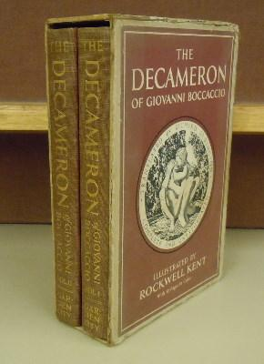 The Decameron of Giovanni Boccaccio: Richard Aldington, trans.; Rockwell Kent, illustration