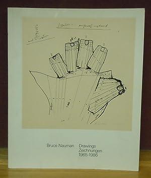 Bruce Nauman Drawings 1965-1986: Coosje van Bruggen et al.