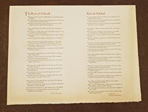 The Rose of Solitude / Rosa de Soledd (Broadside)