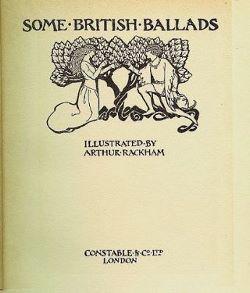 Some British Ballads: Rackham, Arthur
