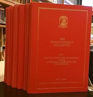 The Estelle Doheny Collection.: Oyens, Felix de Marez & Paul Needham.