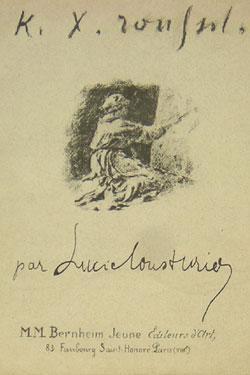 K.-X. Roussel: Cousturier, Lucie